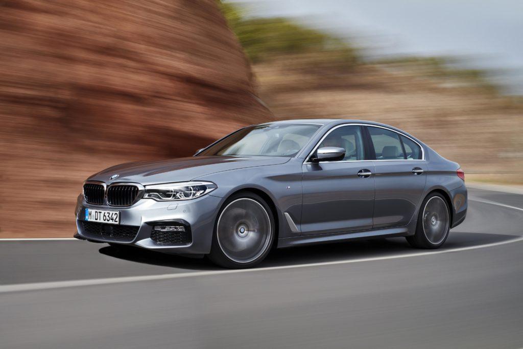 BMW 540i - 2017 test drive