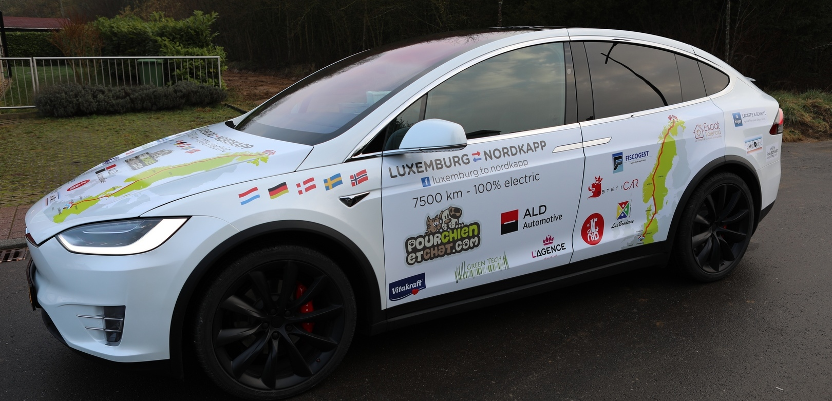 Luxembourg to Nordkapp with a Tesla Model X: Interview with Olivier Defoort