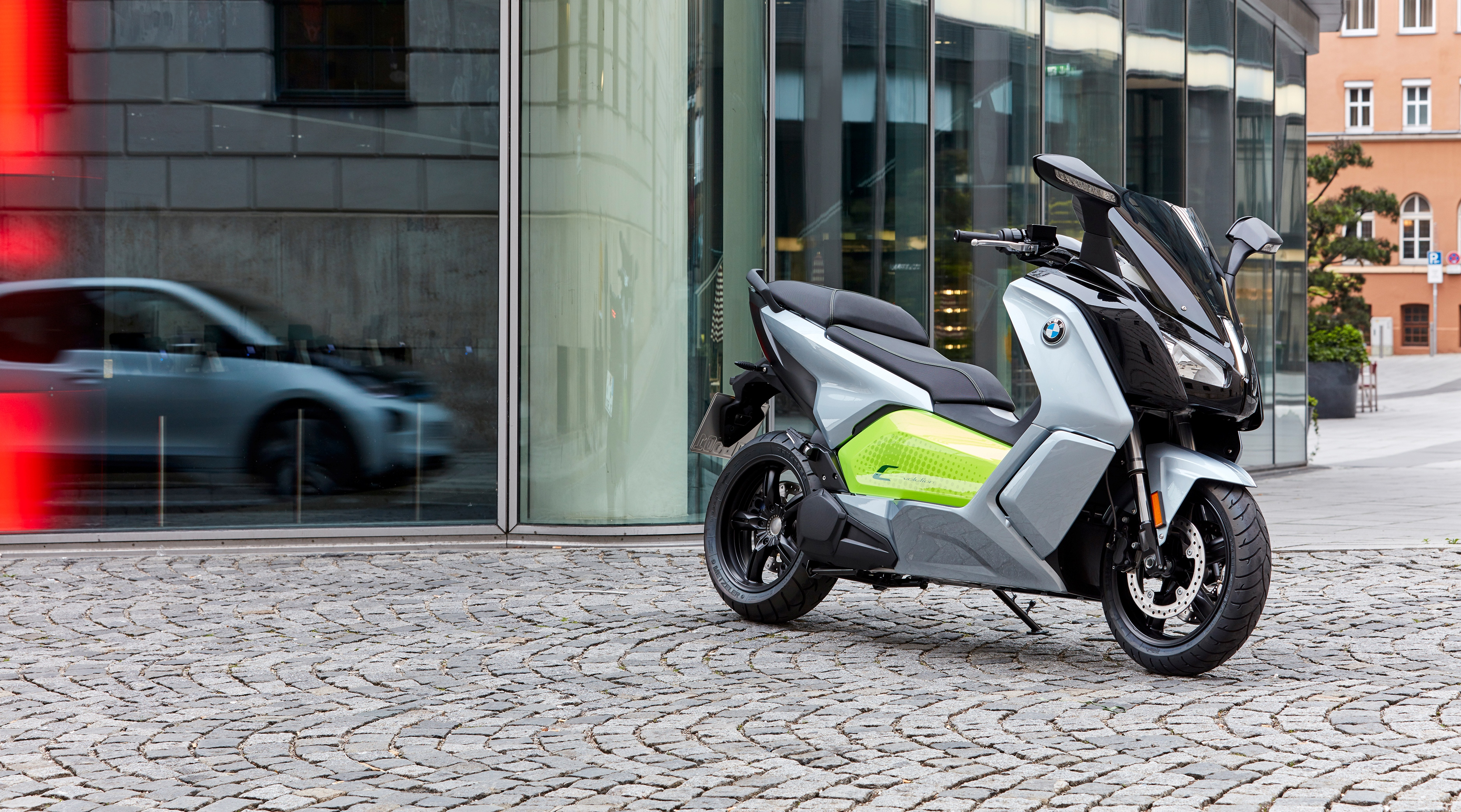 BMW C Evolution the electric scooter