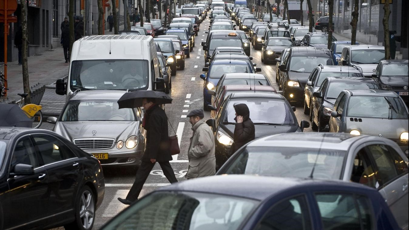 Traffic in Low Emissions Zone Brussels